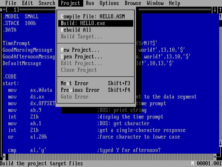 masm 6.11 software