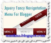 Tạo Menu ngang có hiệu ứng khi rê chuột đẹp dành cho blogspot