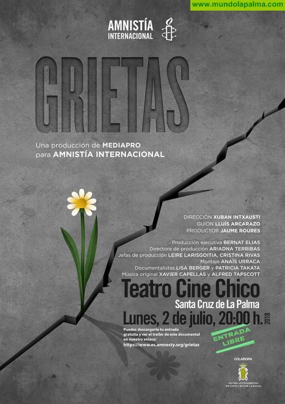 """Proyección de la película """"Grietas"""""""