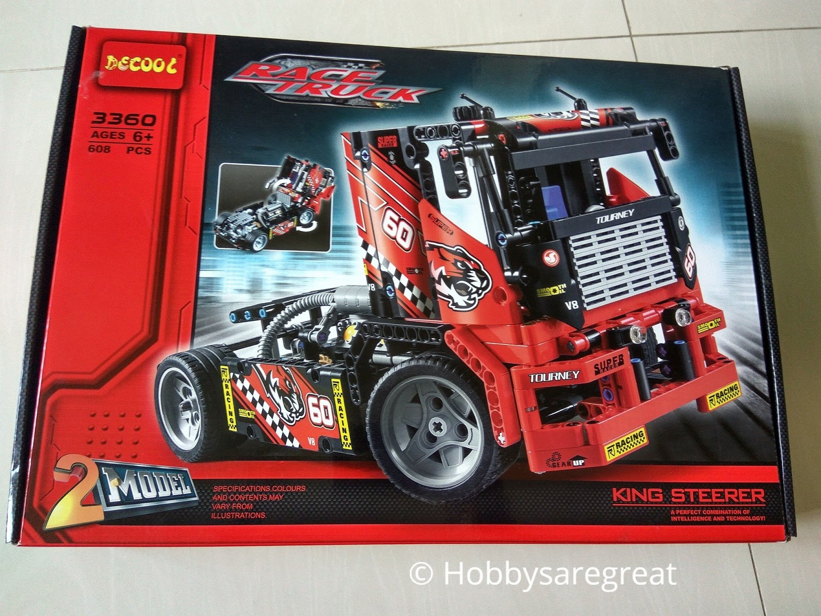 Hobbys Are Great Review Of Decool 3360 Race Truck