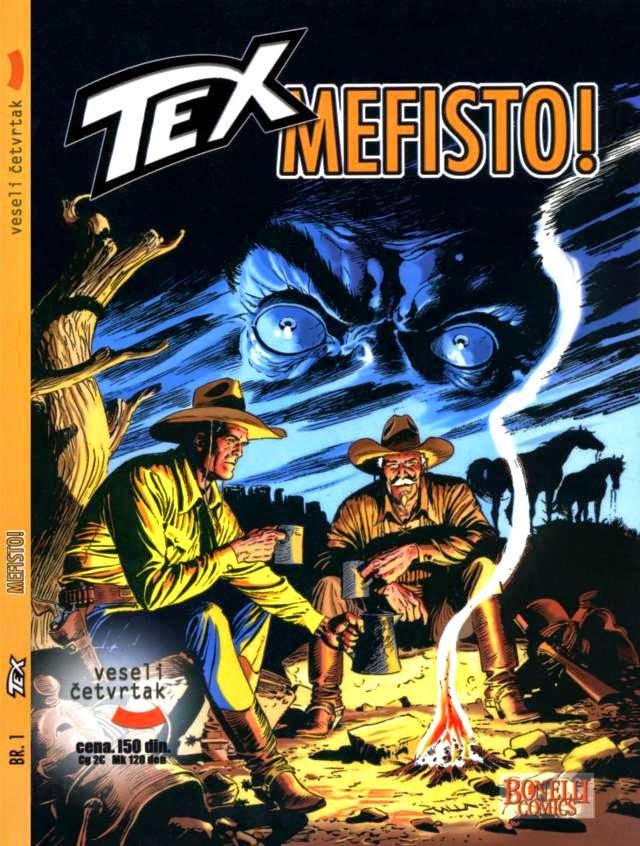 Mefisto! (Veseli Cetvrtak) - Tex Willer