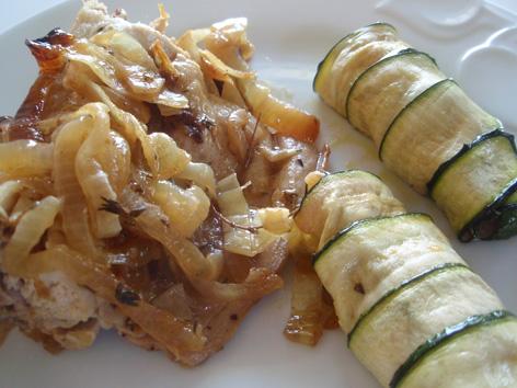 Cocina Sana Y Facil   Rollitos De Calabacin