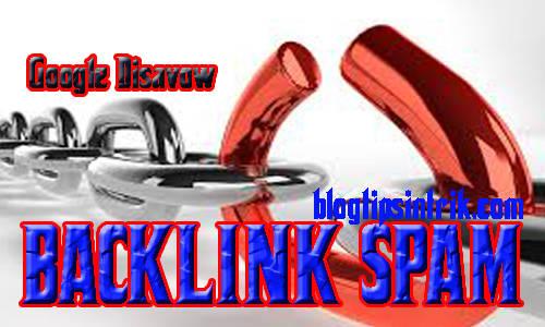 Cara Menggunakan Google Disavow Untuk Menghapus Backlink Spam
