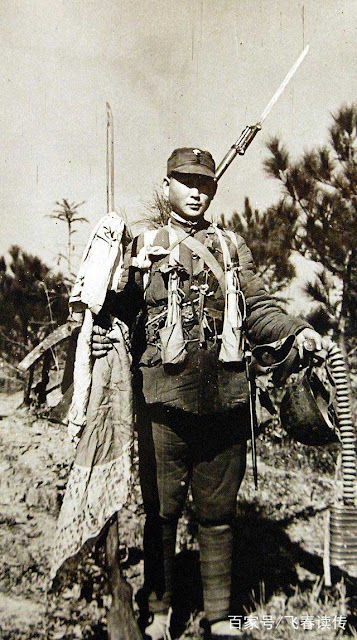 Japanese soldier in China, 9 January 1942 worldwartwo.filminspector.com