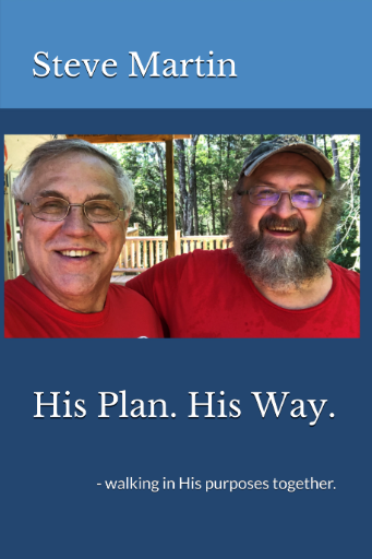His Plan. His Way. New book by Steve Martin