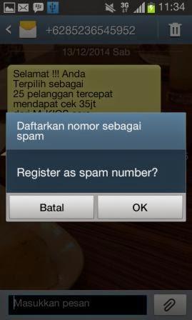 Cara Blokir No HP Spam SMS di HP Android Dengan Dua Metode