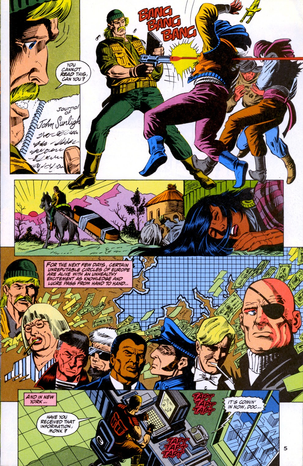 Doc Savage (1988) issue 11 - Page 7