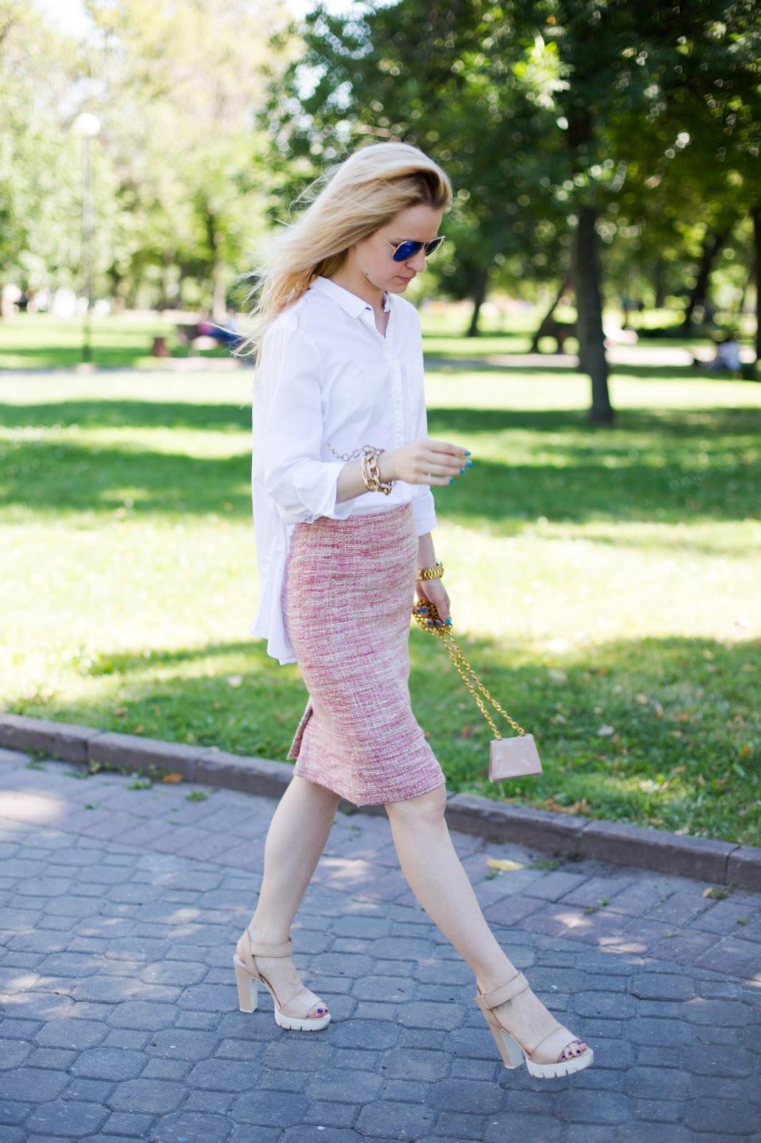модный блоггер россия,уличная мода лето 2015 фото, фэшн блоггеры россии, модная белая рубашка