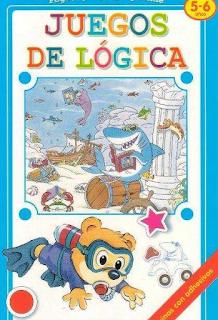 Libro Juegos de lógica – 5 y 6 Años