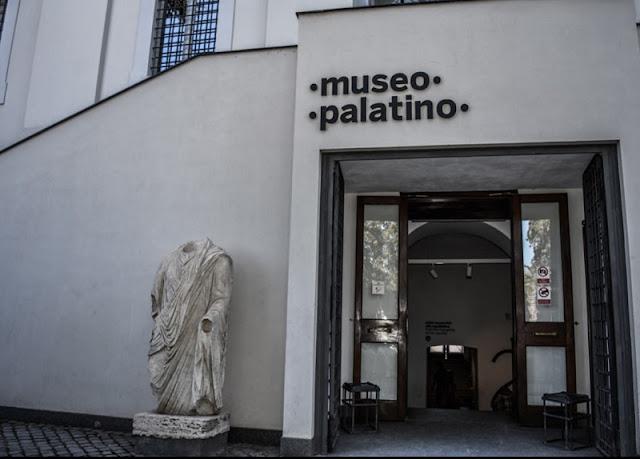 Entrada do Museu Palatino