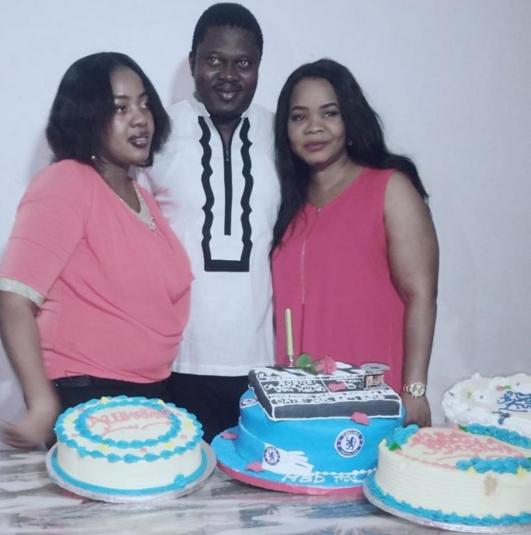 muyiwa ademola wife pregnant