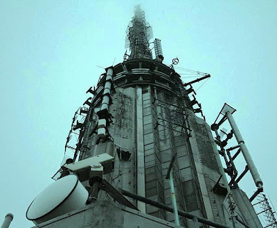 Top of the Empire State Building: Communications devices for broadcast stations