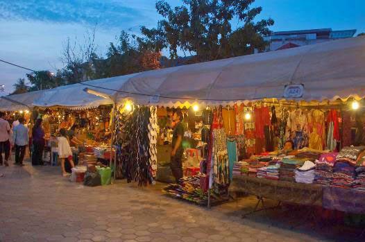 chợ đêm Phnôm Pênh