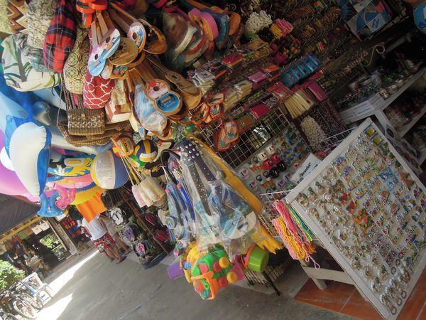 Souvenirs in Boracay