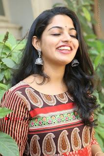 Telugu Actress Nikhila Vimal Latest Stills in Anarkali Dress  0127.JPG