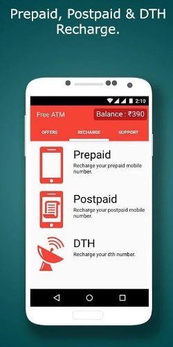 FreeATM - Instant Free Recharge