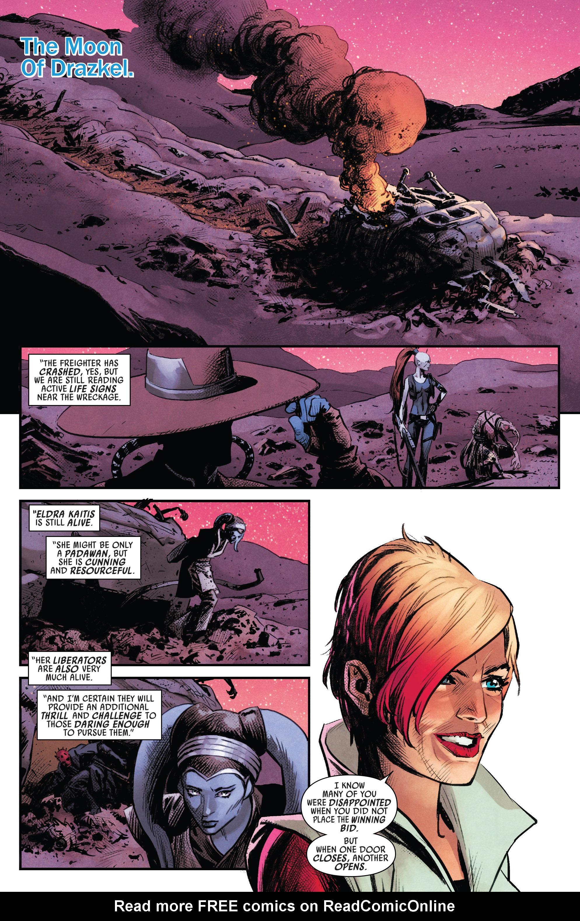 Read online Darth Maul comic -  Issue #4 - 3