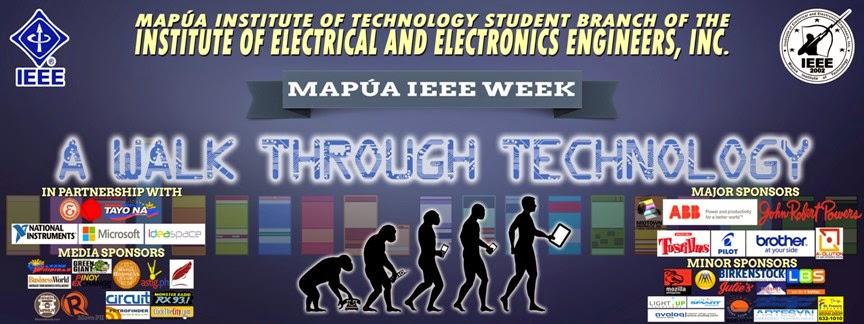 Mapúa – IEEE Week 2015: A Walk through Technology ~ Wazzup Pilipinas