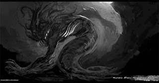 Une représentation de Mère Hydra par Sandy Petersen