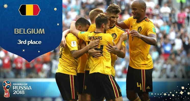Hasil Belgia vs Inggris Skor Akhir 2-0 (3rd Place World Cup 2018)
