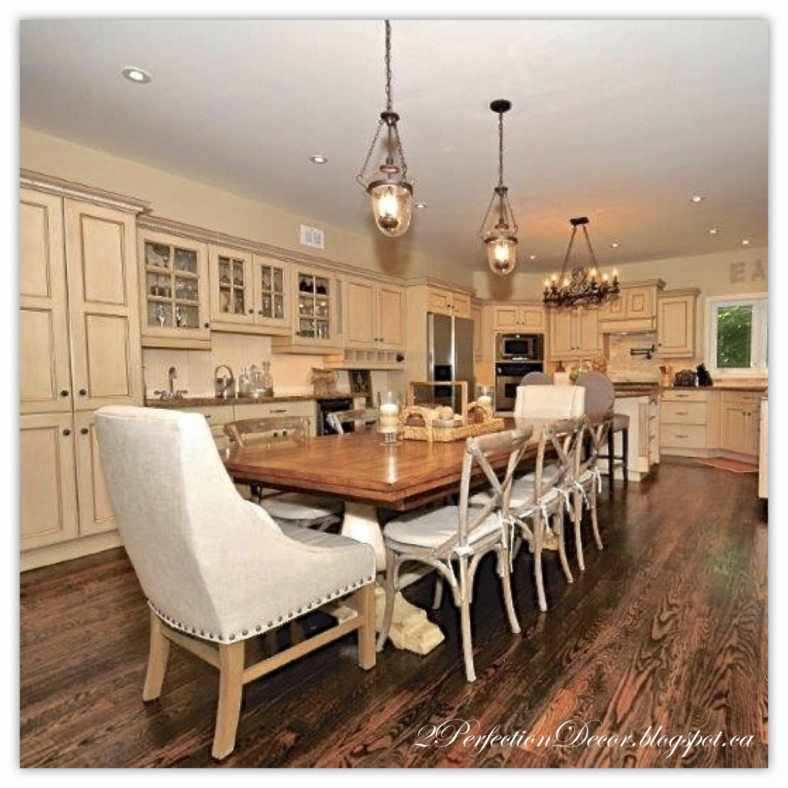 Restoration Hardware Kitchen Table Black Apron Front Sink 2perfection Decor French Country Reveal