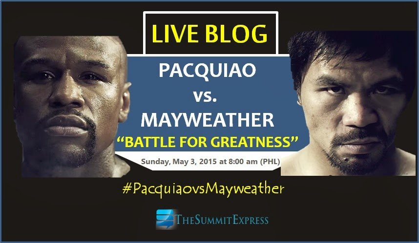 LIVE BLOG: Pacquiao vs. Mayweather Full Results, Highlights