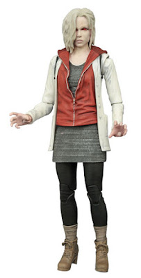 Previews Exclusive iZombie Television Series Zombie Mode Variant Liv Moore Section Action Figure by Diamond Select Toys