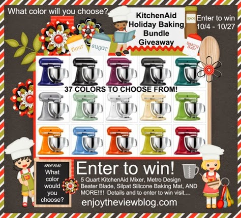 KitchenAid Holiday Baking Giveaway | enjoytheviewblog.com