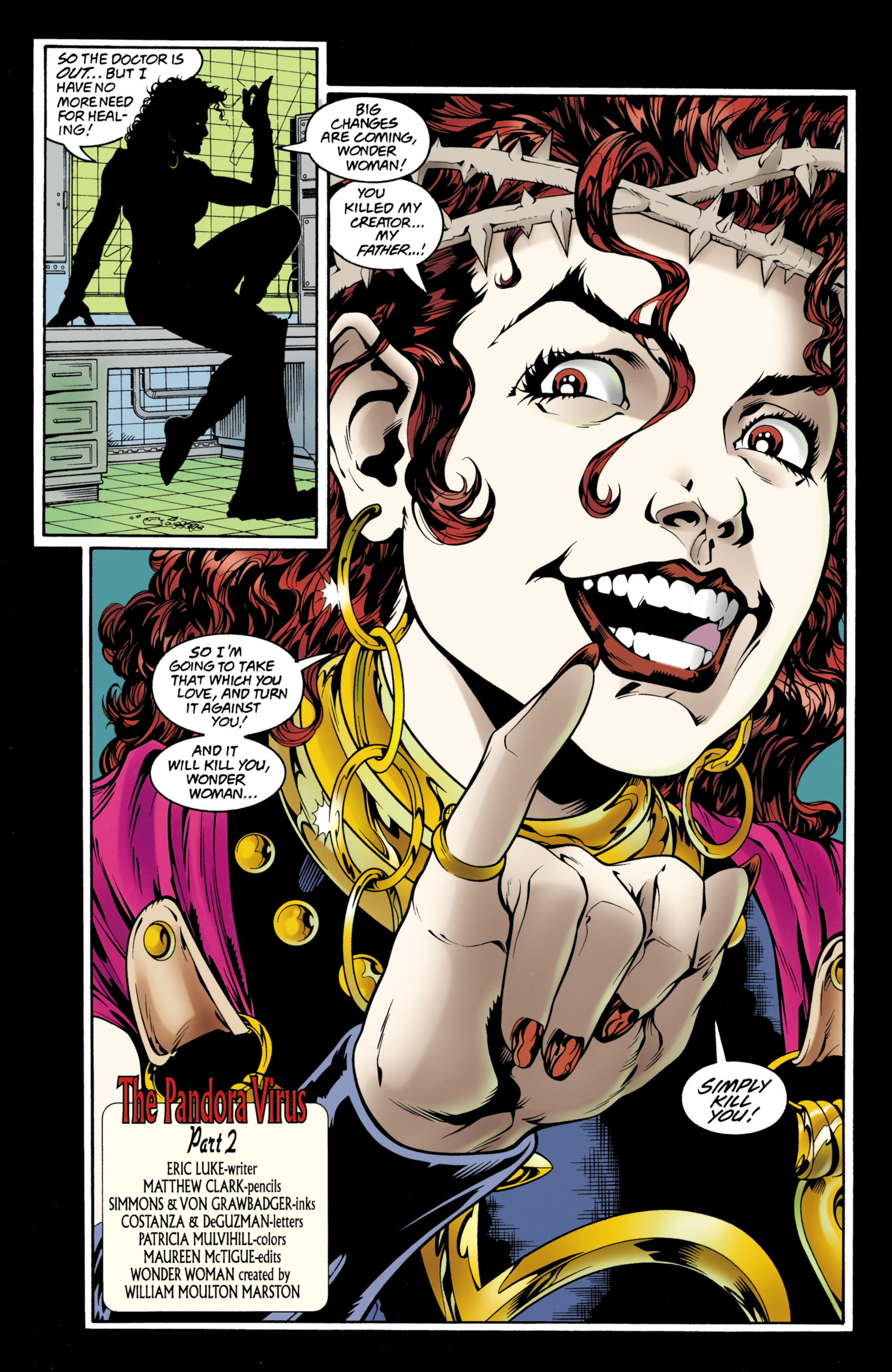 Read online Wonder Woman (1987) comic -  Issue #152 - 23