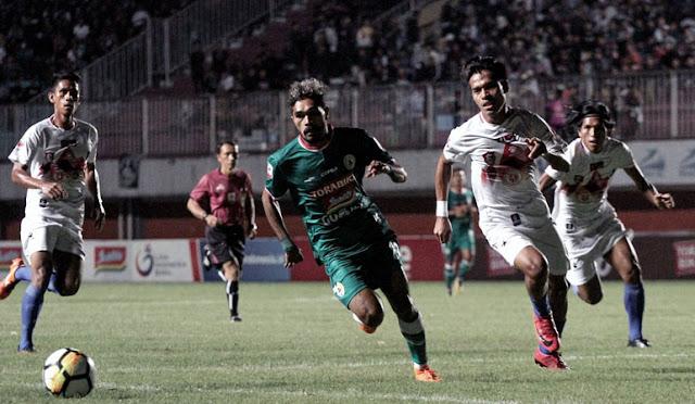 Pertandingan PSS Sleman vs Semeru FC