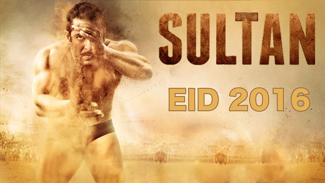 Salman Khan and Anushka Sharma Starrer Sultan Movie Official Poster And HD Wallpapers