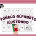 Tabela do alfabeto : 4 formas - para imprimir