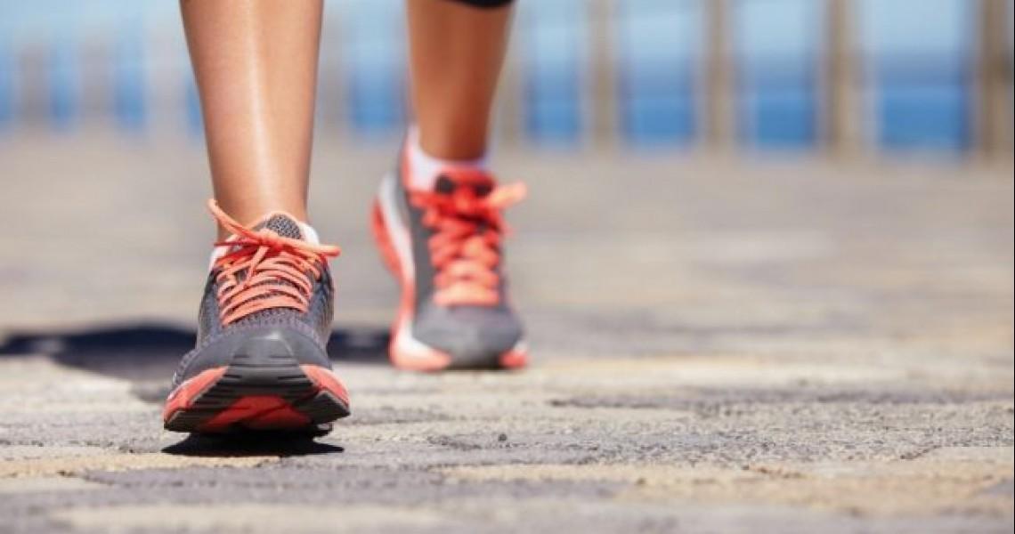 Το σωστό περπάτημα: 100 βήματα το λεπτό!