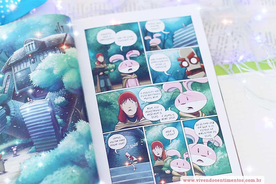O Amuleto 3: Em busca da cidade das Nuvens – Kazu Kibuishi