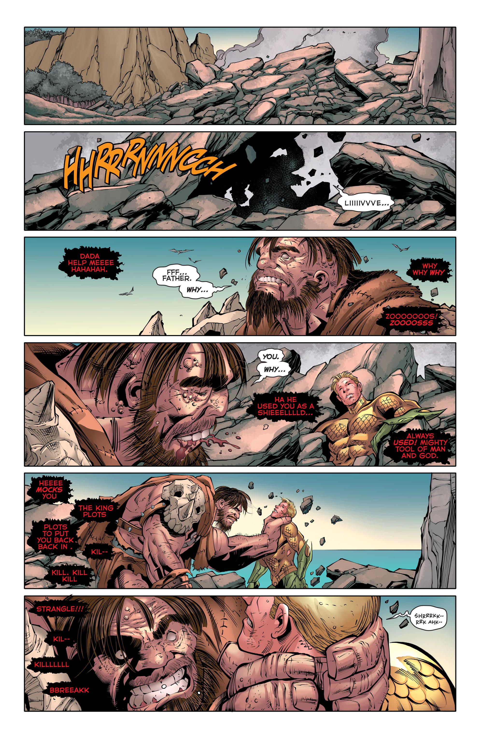 Read online Aquaman (2011) comic -  Issue #30 - 13