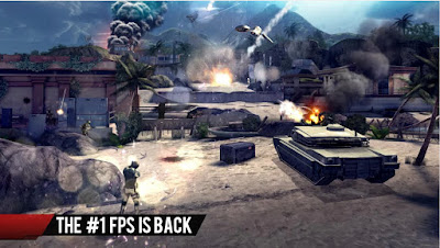 Screenshot GamePlay Modern Combat 4 Zero Hour