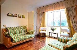 ruang tamu apartemen