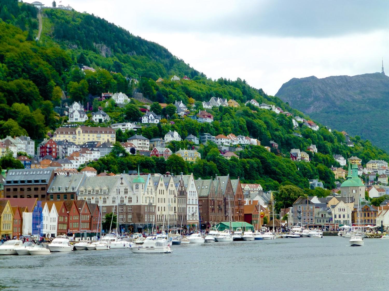 Bergen desde el ferry