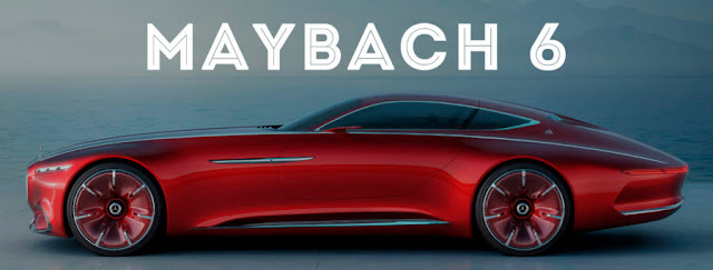 Future concept Car of Mercedes , Mercedes MayBach6