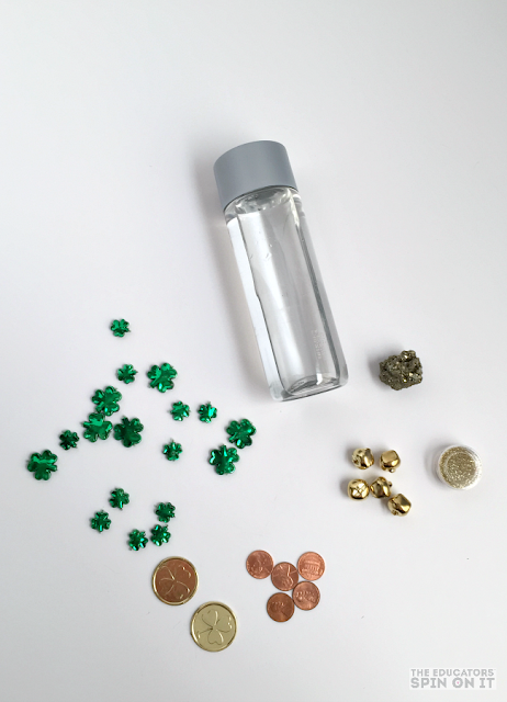 St. Patrick's Day STEM Activity using this Science Bottle for Kids