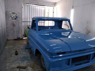 Chevrolet C10 Viking 1965 Original Body Set
