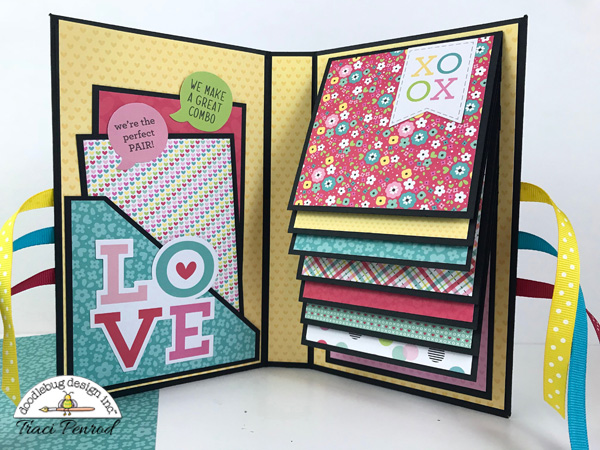 Doodlebug design inc blog chit chat focus waterfall for Waterfall design in scrapbook