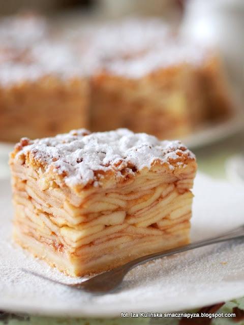 szarlotka spod samiuskich tater, szarlotka z duza iloscia jablek, jablecznik, szarlotka z plasterkami jablek, jak upiec najlepsza szarlotka, pyszne ciasto na niedziele, sprawdzony przepis na szarlotke