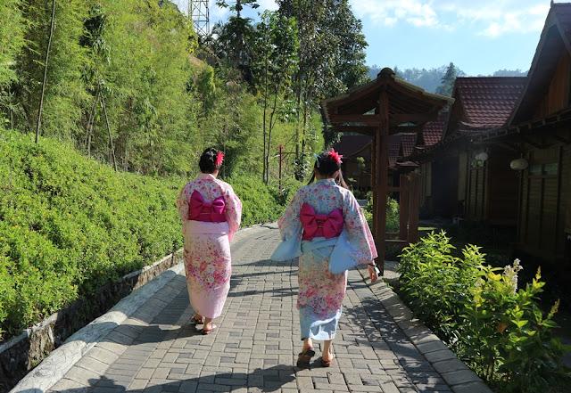 Jepang di The Onsen Resort, Malang