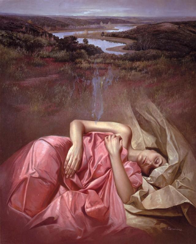 Современные художники Испании. Soledad Fernandez 16+ 18