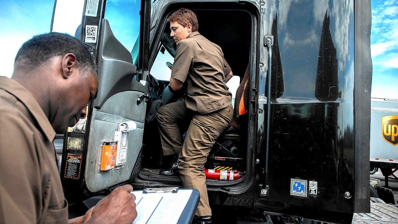 Ups Truck Driving School