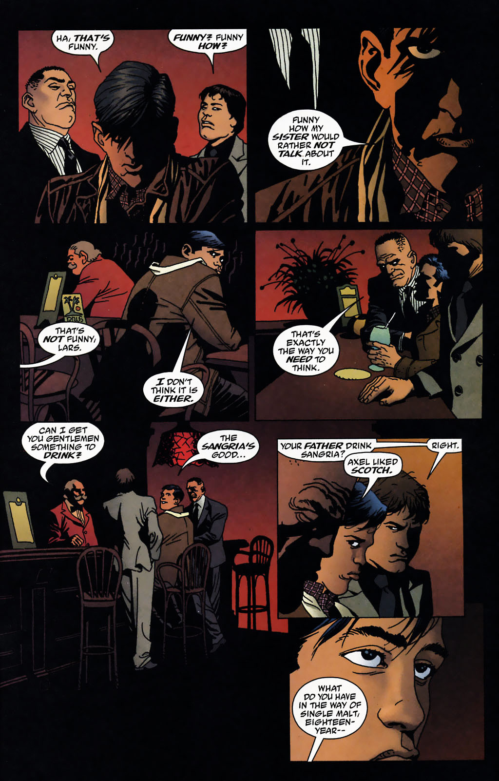 Read online 100 Bullets comic -  Issue #72 - 12