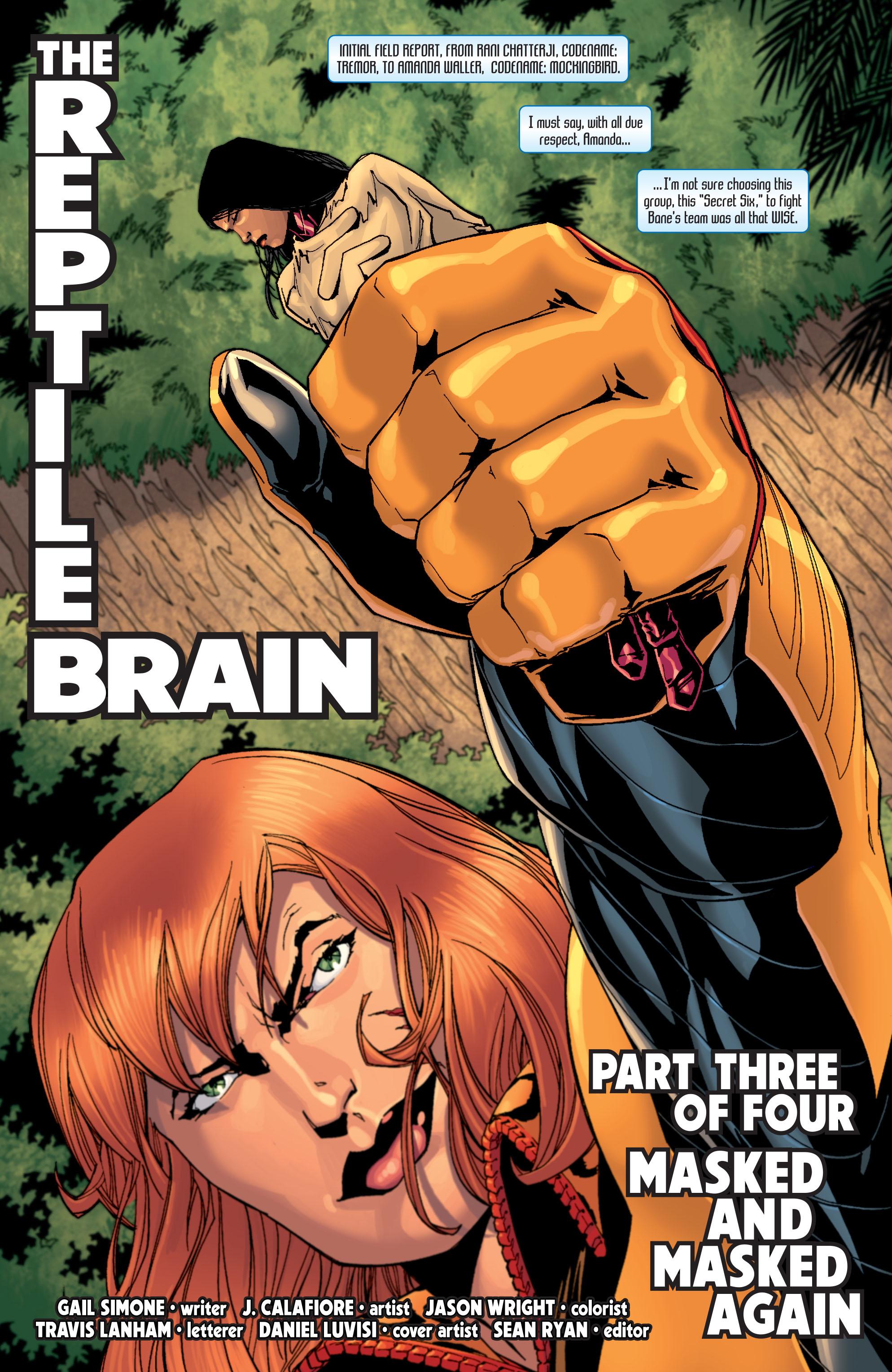 Read online Secret Six (2008) comic -  Issue #27 - 2