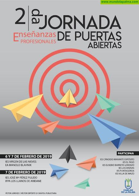 II Jornadas de Puertas Abiertas Enseñanzas Profesionales La Palma