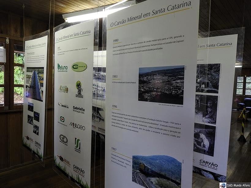 O que fazer em Criciúma - Mina de Carvão